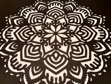 "Mandala stencil ""Life"" for Modern  Wall  Home Decor"