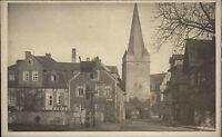 WERNIGERODE Private Echfoto-AK um 1922 Ortsmitte Ansicht alte Postkarte Harz