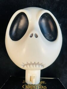 Jack Head Night Light, Nightmare Before Christmas, Goth Monster Kids Tim Burton