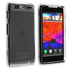 For Motorola DROID RAZR MAXX XT916 HARD Case Snap On Phone Cover Cryst