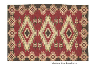 """Red River Southwestern  Placemats Table Mats Woven Great Quality 13x19""""  #11072"""