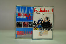 RADIOHEAD - 2 cassette lot - Com Lag / World Rock Legends SEALED!