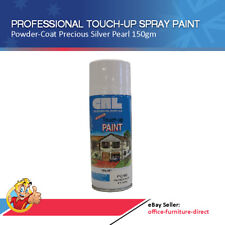 Spray Paint Touch-Up Can x12 Professional Powdercoat Precious Silver Pearl 150gm