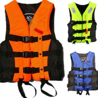 Adult Foam Flotation Drifting Swimming Life Jacket Vest With Whistle Size S-XXL