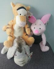 "Disney Christopher Robin 12"" Tigger Piglet Eeyore Soft Plush Toy New"