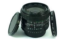 "Nikon Ai-s ajuste, SIGMA Mini-ancho 28mm f/2.8 Macro Lente +1B II Filtro & Tapas. ""Menta -'"