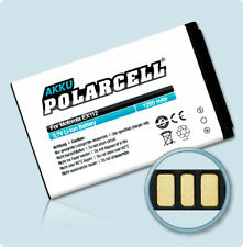 PolarCell Akku für Motorola EX300 ersetzt OM5B 1200mAh Li-Ion Batterie Accu Acku