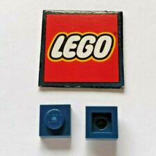 5 plats LEGO 1x1 3024 Violet Foncé Dark Purple