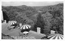 Corbin KY~Cumberland River From State Park Dupon Lodge RPPC