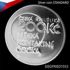 Czech Silver Coin (2013) - Chemist Otto Wichterle - 200 CZK