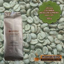 Caffè Verde in Grani Colombia Medellin Supremo 500 gr - Caffè Arabica 100%