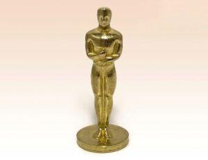 """Figurine Oscar Academy Award Statuette Bronze Miniature Statue 1.73"""""""
