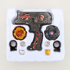 Beyblade Metal Fusion Kreisel Masters Arena Fight Retract String 4D Launcher Set
