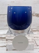 sold out blue 'twinkle' glassybaby (New in Box)