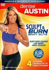 Denise Austin Sculpt and Burn Body Blitz DVD R4