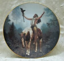 "Deliverance 1992 Mystic Warriors 8.5"" Plate Hamilton Collection Limited Edition"