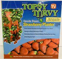 Strawberry Planter Vegetable Herb UpsideDown Hanging Topsy Turvy -T