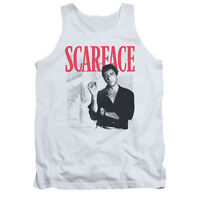 SCARFACE STAIRWAY Licensed Men's Graphic Tank Top Sleeveless Tee SM-2XL