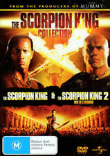 'The Scorpion King' + 'The Scorpion King 2 Rise Of A Warrior' The Rock - 2 DVDs