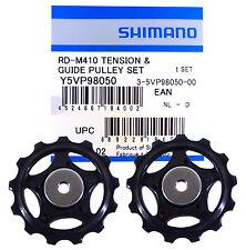 SHIMANO RD-M410 (13-13 DENTI) 2x RUOTE SOSTEGNO DERAGLIATORE BICI RUOTA CICLO