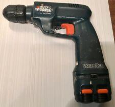 Black & Decker Versa Pak VP825 7.2V 350/700 RPM Cordless Drill/Driver 2 Battery