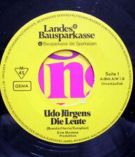 Single / UDO JÜRGENS / MUSTERPLATTE / RARITÄT / AUSTRIA /