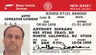 Tony Soprano NJ Drivers License Realistic ID Card Sopranos Prop Fake FREE SHIP