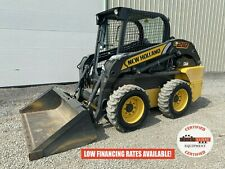 2017 New Holland L218 Skid Steer Orops Aux Hyd Handfoot Controls 284 Hours
