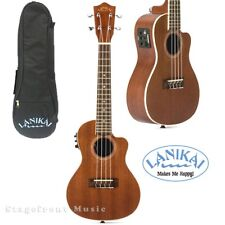 LANIKAI LMACEC MAHOGANY SERIES *new model* CONCERT ACOUSTIC/ELECTRIC UKULELE
