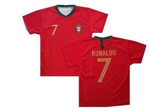 Portugal fanshirt trikot shirt Ronaldo Kinder boys Gr 140 146 152