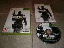 Jeu XBOX360 PAL Version Française: CALL OF DUTY MODERN WARFARE 3 - Complet TBE