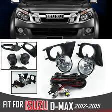 Fog Spot Driving Light Lamp Complete Kit For Isuzu D-Max Dmax Holden Rodeo 12-15