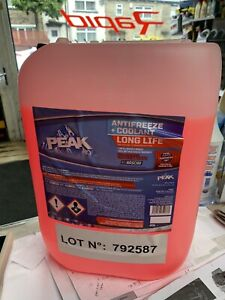CONCENTRATED RED ANTIFREEZE LONGLIFE (5yr) ANTIFREEZE 20L