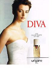 PUBLICITE ADVERTISING  1996   UNGARO  parfum DIVA