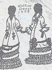 "Vintage Franki's Parisian Dress Pattern French Bebe - China Walking Suit 9""-27 """