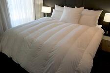 Super King Size Channel Quilt 95% White Siberian Duck Down 2 Blanket Warmth