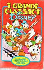 I GRANDI CLASSICI DISNEY=N°3 1/1982=LE PIU' BELLE STORIE DEGLI ANNI 60-70-80