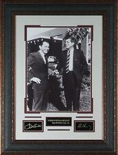 Frank Sinatra & JFK Photo Laser Signed Engraved Framed John Kennedy RP