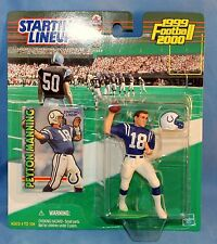 1999-2000 Starting Lineup Peyton Manning Action Figures Indianapolis Colts NFL