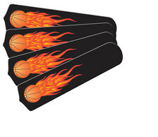 """New HOT FLAMES BASKETBALL SPORTS 42"""" Ceiling Fan BLADES ONLY"""