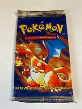 1999 Pokemon 1st Edition Sealed Booster Pack Charizard Art Spanish Weighed Light