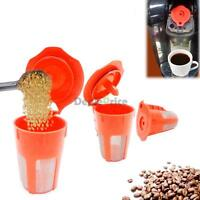For Keurig 2.0 Refillable K-Carafe Coffee Filter Replacement Orange Good Quality