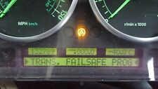Range rover l322 4.4 petrol instrument cluster