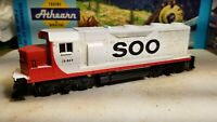 ATHEARN HO SCALE GP35 SOO lines locomotive train engine