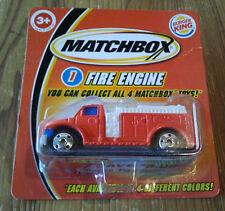 Matchbox USA Burger King Fire Engine rot von 2004 in OVP . Superfast