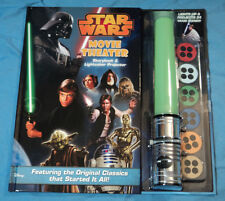 Disney, Star Wars Movie Theater Storybook & Lightsaber Projector, Brand New