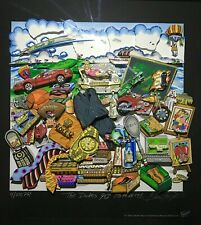 """Limited Edition CHARLES FAZZINO 3D ARTWORK """"THE DUDE'S GOTTA HAVE IT!"""" #4/100PR"""