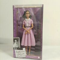 Brand NEW Barbie Inspiring Women Series Katherine Johnson Doll Collectible
