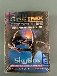 Star Trek Deep Space Nine Premiere Trading Cards 1993 Factory Sealed. RARE!!!