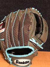 "Franklin Sports 10.5"" Infinite Web/Shok-Sorb RH Thrower Teeball Glove - NEW"